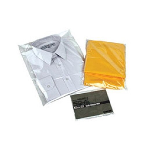 T shirt garment bags clothing cover clear polythene for Plastic shirt bags wholesale