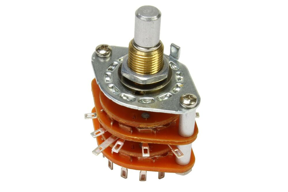 5 position 4 pole rotary guitar pickup selector switch ebay. Black Bedroom Furniture Sets. Home Design Ideas
