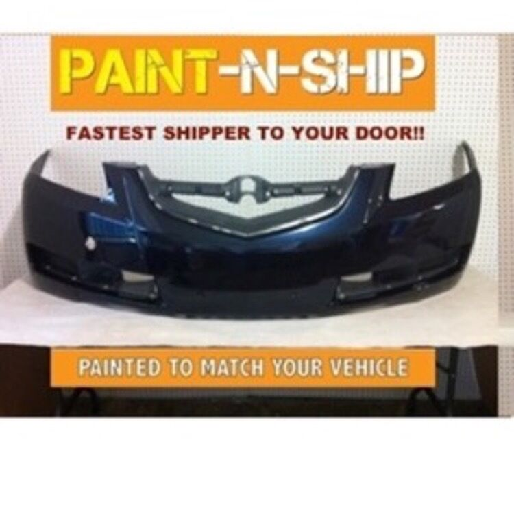 NEW 2004 2005 2006 NEW Acura TL Front Bumper Painted To