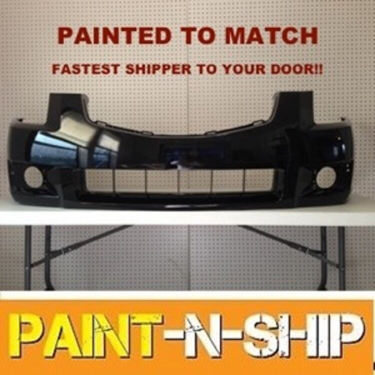 Fits 2007 2008 Nissan Maxima Front Bumper Painted To