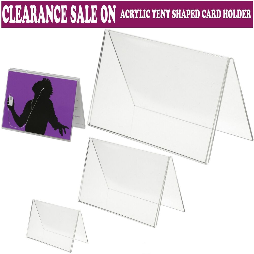 Acrylic clear menu show card name place table setting for Place settings name card holders