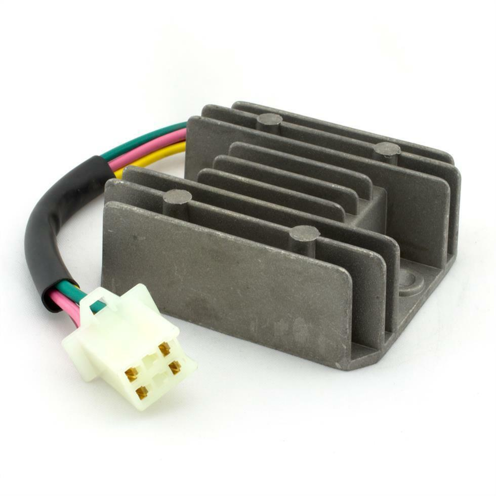 universal 4 wire 2 phase motorcycle regulator rectifier 12v dc universal 4 wire 2 phase motorcycle regulator rectifier 12v dc bike quad scooter
