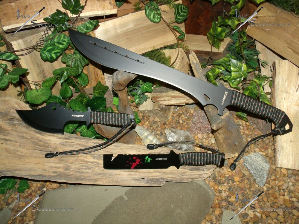 Machete Knife Sword Axe Saw Spear Harpoon Full Tang