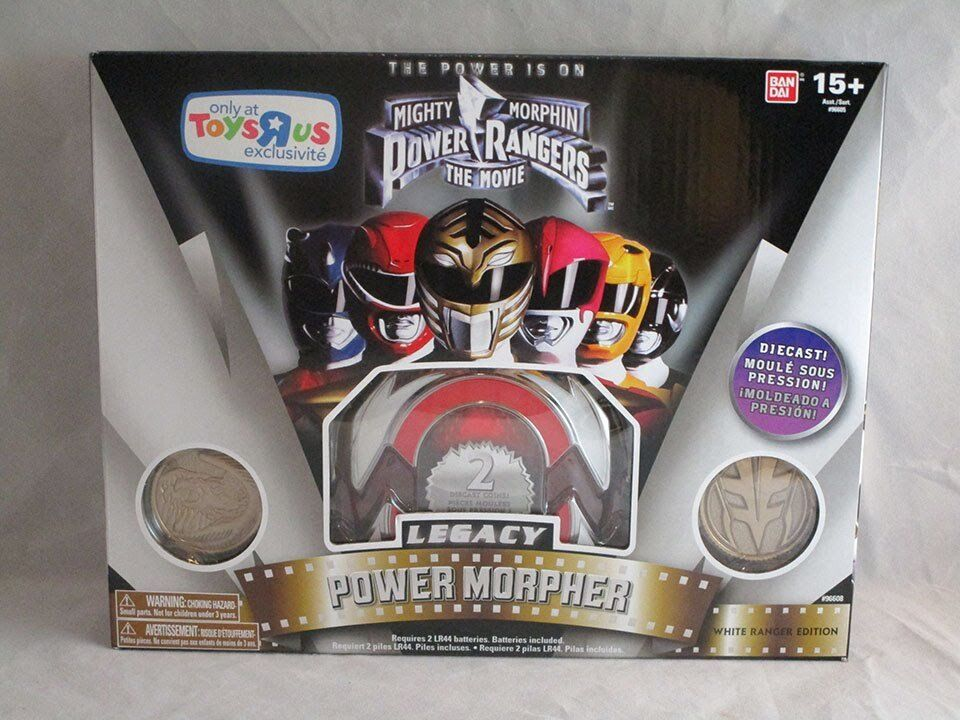 MIGHTY MORPHIN POWER RANGERS THE MOVIE LEGACY POWER