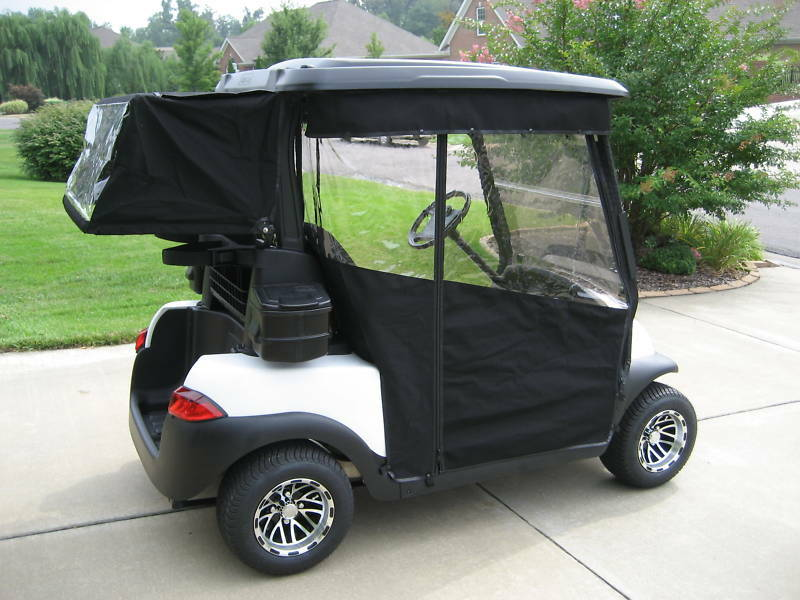 Sunbrella Track Style Golf Cart Enclosure Cover Club Car