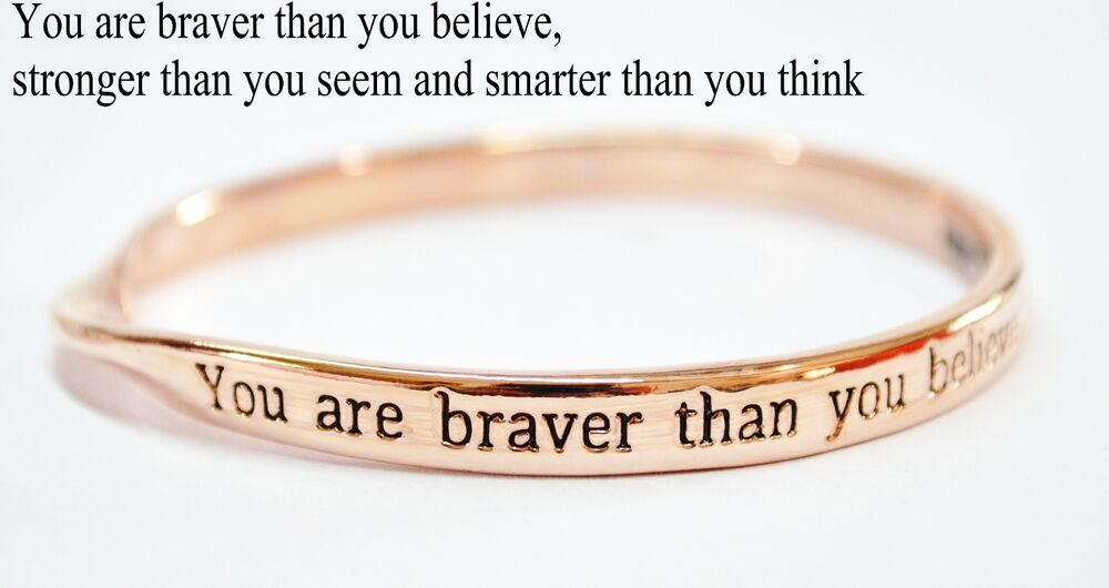 Sterlina Milano Rose Gold Sentimental Meaningful Message ...
