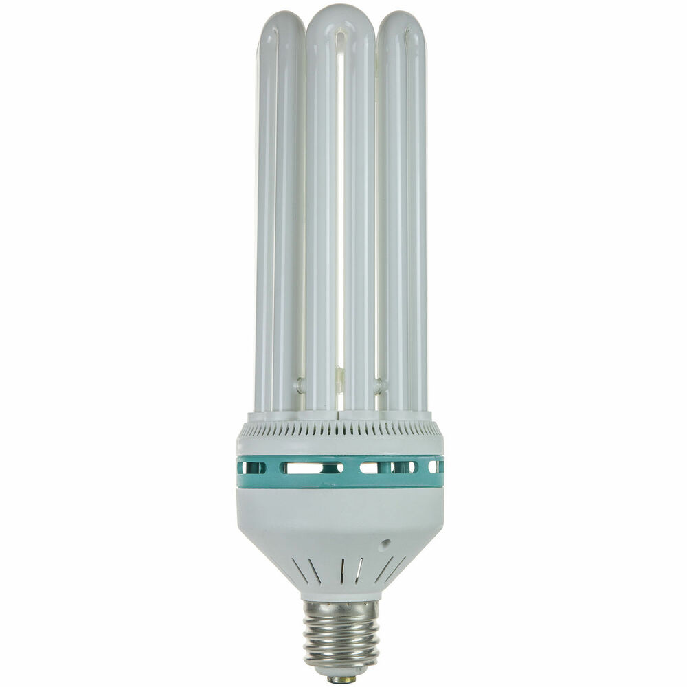 150w Watt Cfl Grow Light Flowering 2700k Compact Fluorescent Lamp Bulb L227 Ebay