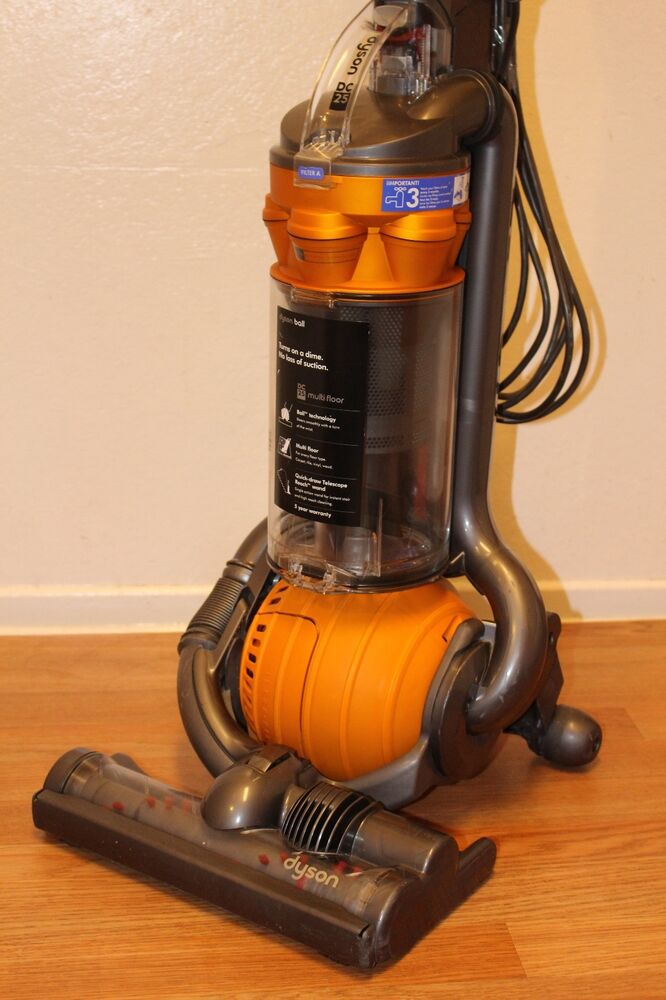 Dyson Dc25 Bagless Upright Lightweight Ball Compact Vacuum