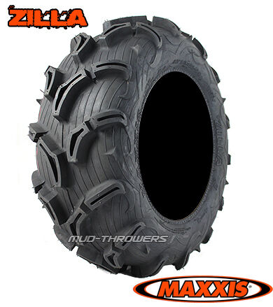 "27"" Maxxis Zilla ATV Mud Tires Set of 4 New 27 9 12 27 11 12 27x9 12 ..."