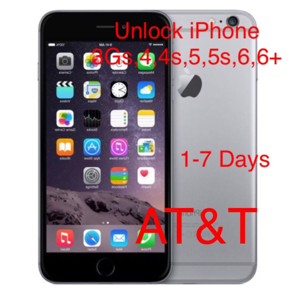 iphone 5 at t iphone 6 6 plus at amp t factory unlock code service all 3 1847