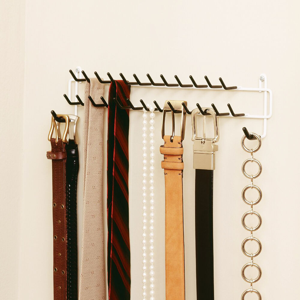 Details About Dalamia High Quality Belt And Tie Rack For Closet Bedroom Office Organization