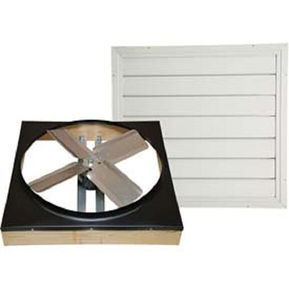 New Cool Attic 30 Quot Direct Drive Whole House Fan With