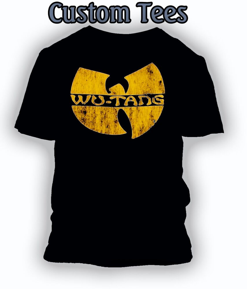 Wu Tang Clan Distressed Big And Tall Special T Shirt