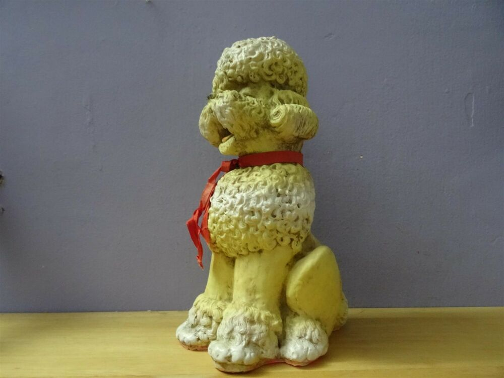 Combex Creations Made In England Old Plastic Poodle Dog Toy Rubber Vintage Ebay