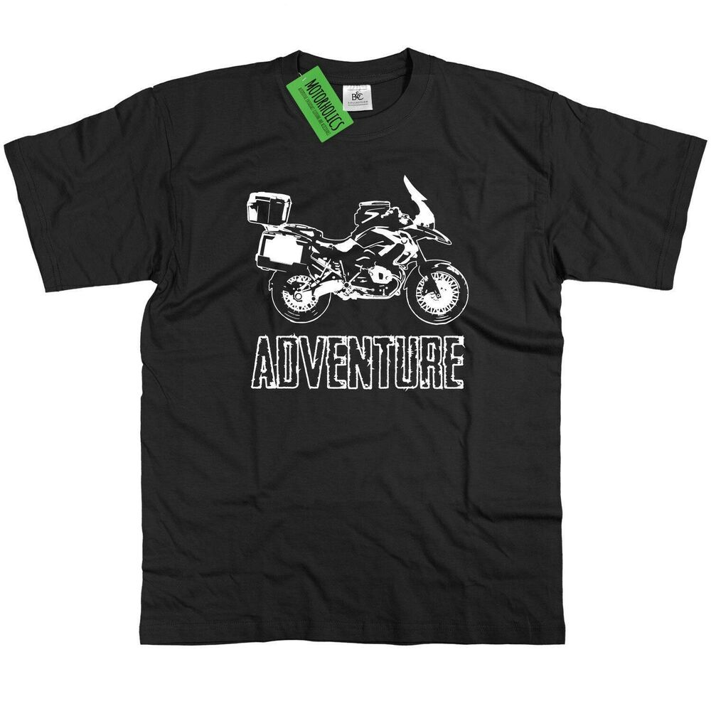 bmw gs1200 adventure t shirt r1200gs rt 1200 gs r ebay. Black Bedroom Furniture Sets. Home Design Ideas