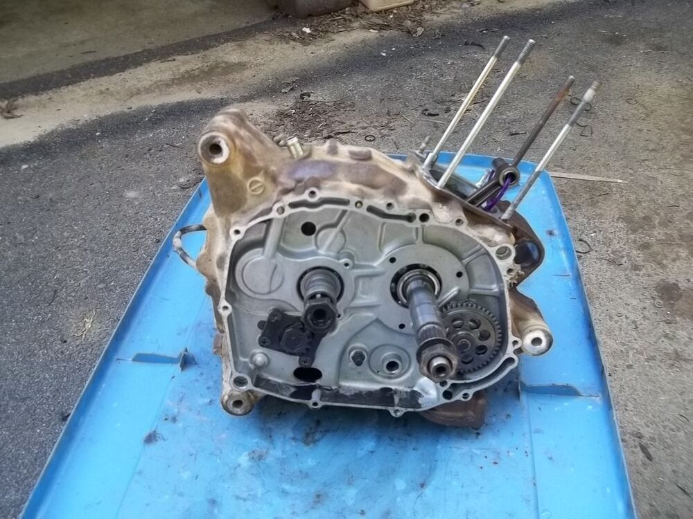 1999 Suzuki Quadrunner Lt 160 Engine Bottom Half Crank