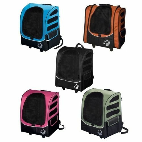 pet gear i go2 escort 5 n 1 pet cat dog carrier backpack car seat tote roller ebay. Black Bedroom Furniture Sets. Home Design Ideas