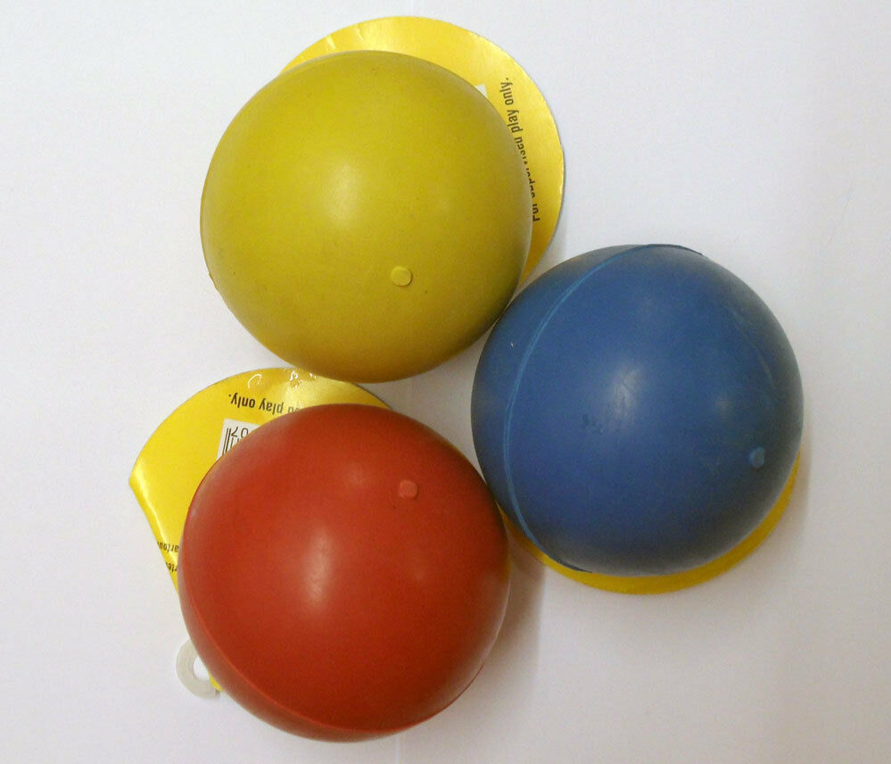 Rubber Ball Dog Toy : Classic large inch tough solid rubber ball dog toy
