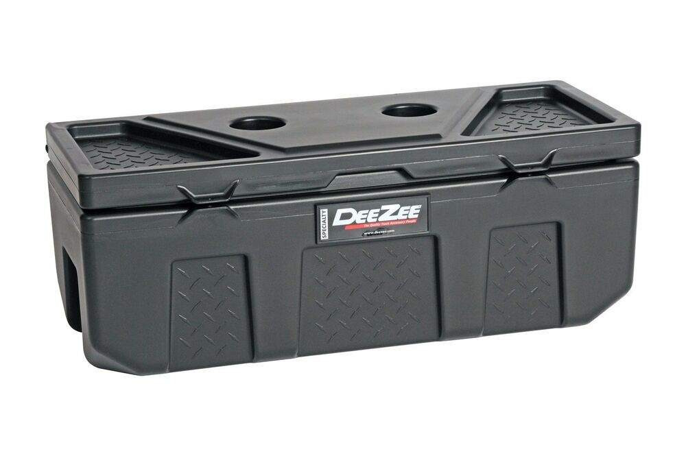 Dee Zee Poly Plastic Storage Chest Truck Tool Box Bed Suv
