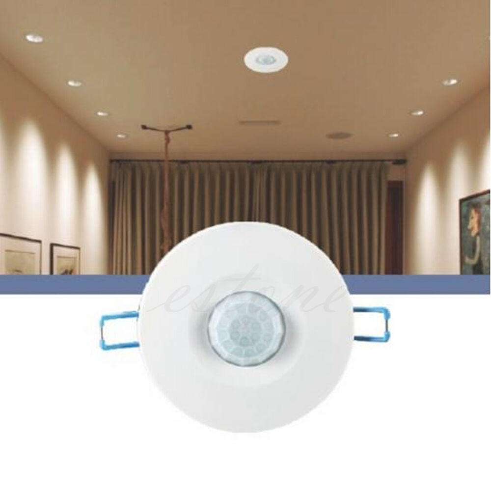 Hot 220v Recessed Pir Ceiling Occupancy Motion Sensor