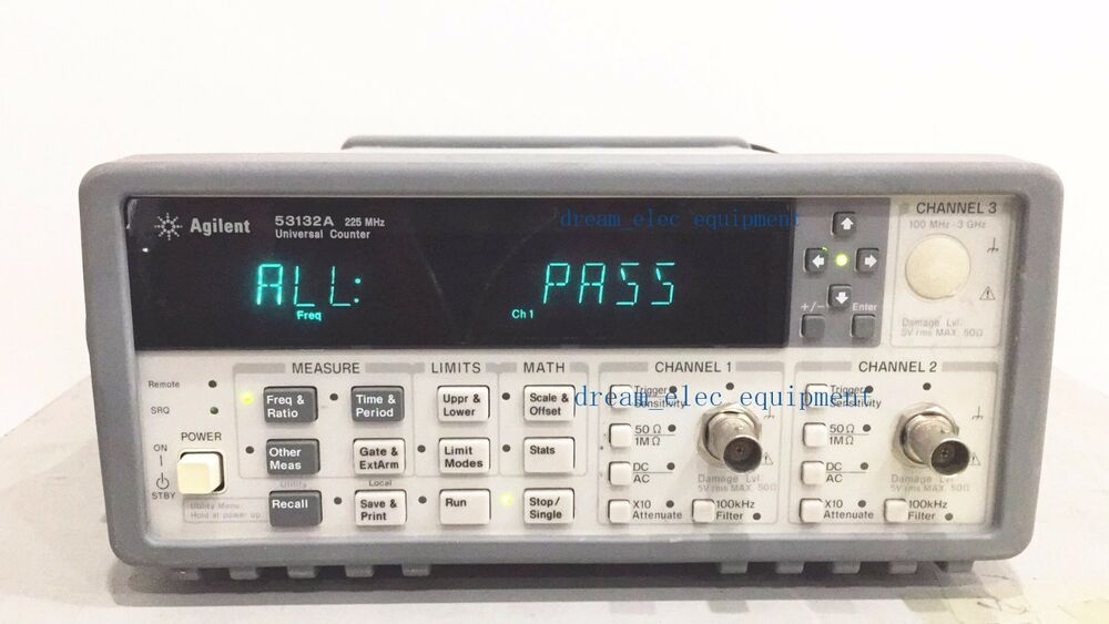 Agilent Frequency Counter : Hp agilent a opt universal frequency counter ebay
