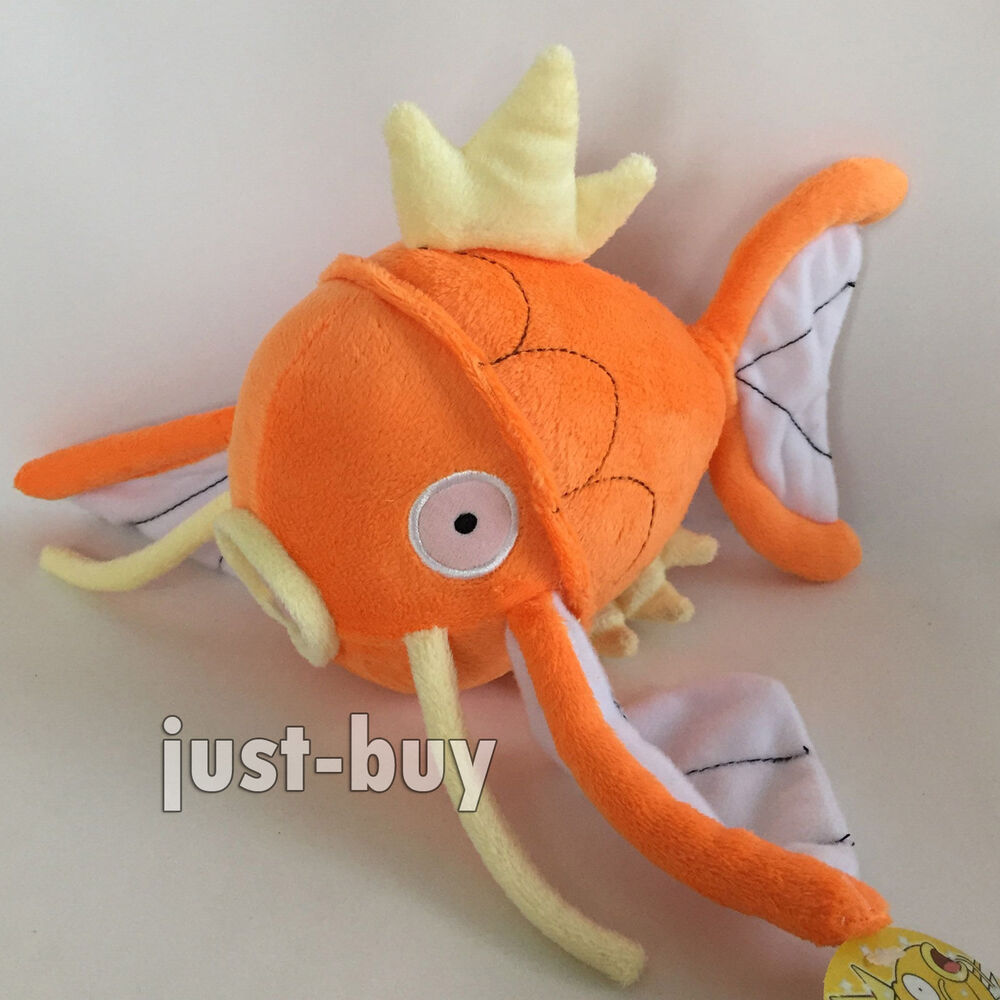 Pokemon magikarp 129 plush soft toy fish stuffed animal for Fish stuffed animal
