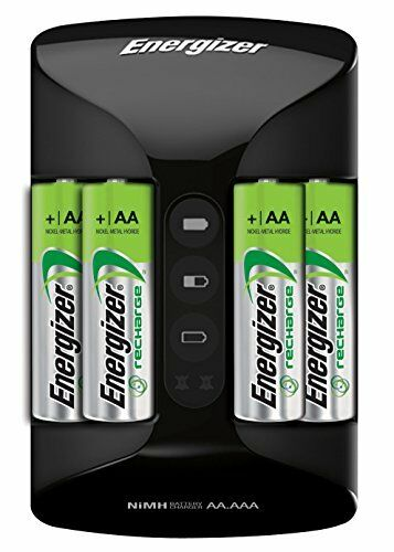 rechargeable aa batteries nimh double a battery 4 count pro charger aaa ebay. Black Bedroom Furniture Sets. Home Design Ideas