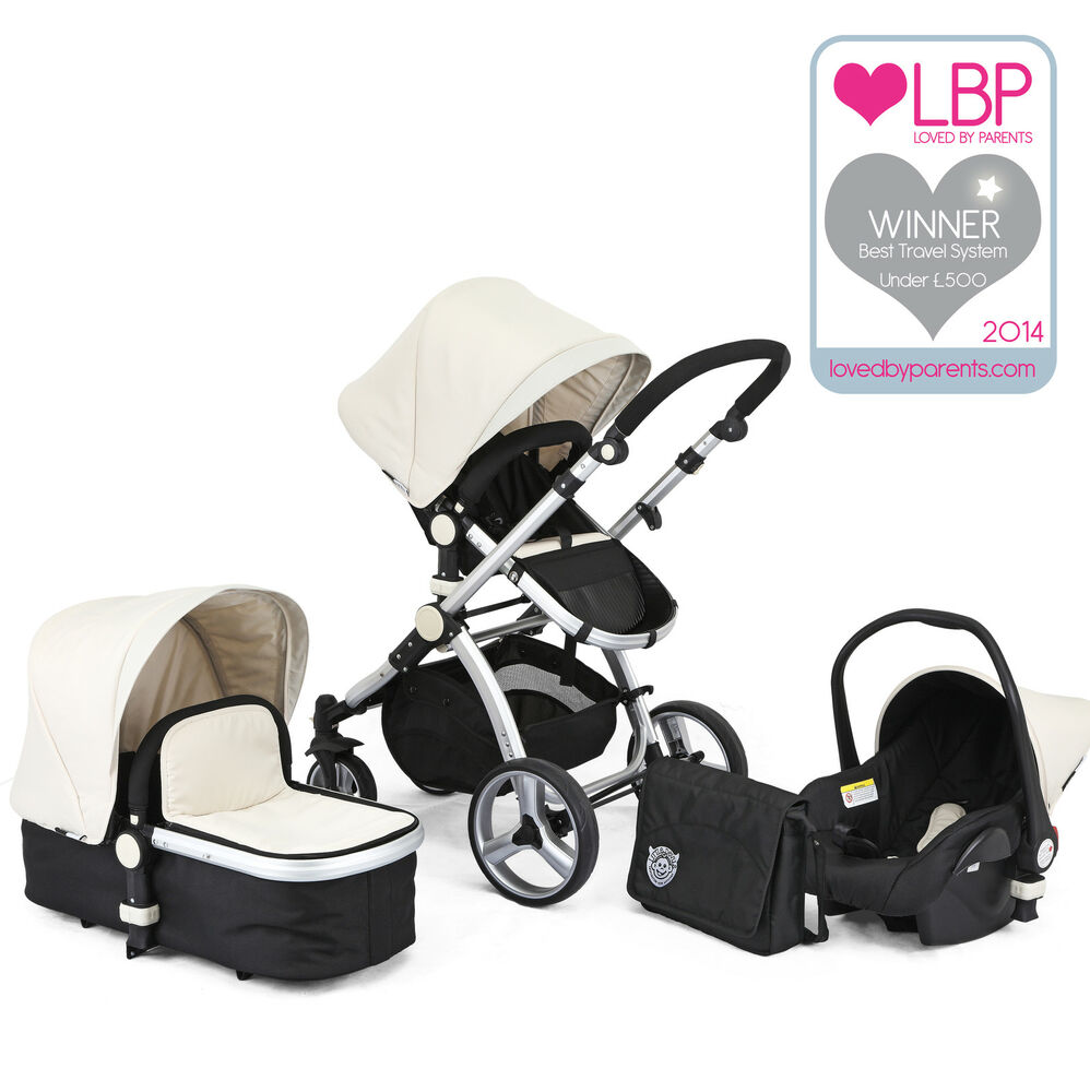 award winning black white carrera sport 3in1 baby travel. Black Bedroom Furniture Sets. Home Design Ideas