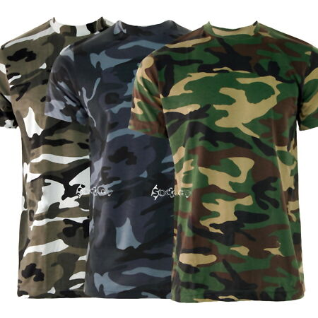 img-Mens Camouflage Army Military Training T Shirt Short Sleeve Top S-5XL Paintball