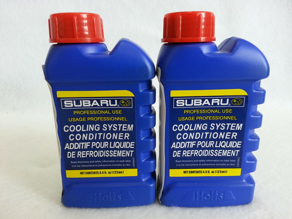 Subaru Engine Coolant : Subaru engine coolant additive cooling system conditioner
