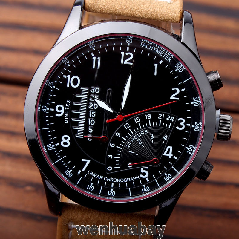 curren chronometer watch black пульсации