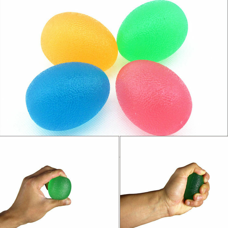 Boss Stress Relief Toys : Egg stressball hand finger exercise stress relief ball toy