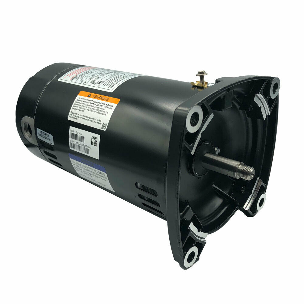 Ao smith swimming pool motor usq1072 square flange 75 3 4 for Square flange pool pump motor