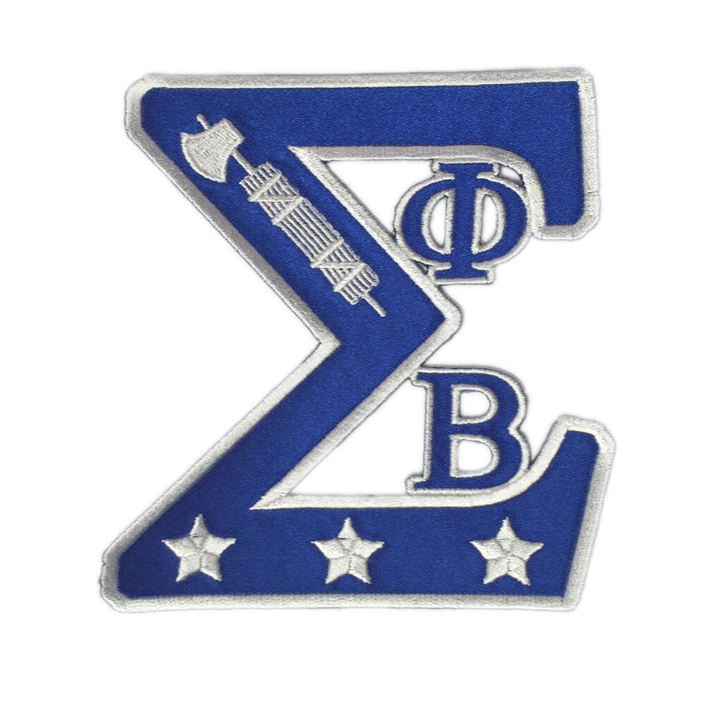 g1660 phi beta sigma symbol patch with letters 5quot ebay With phi beta sigma letters