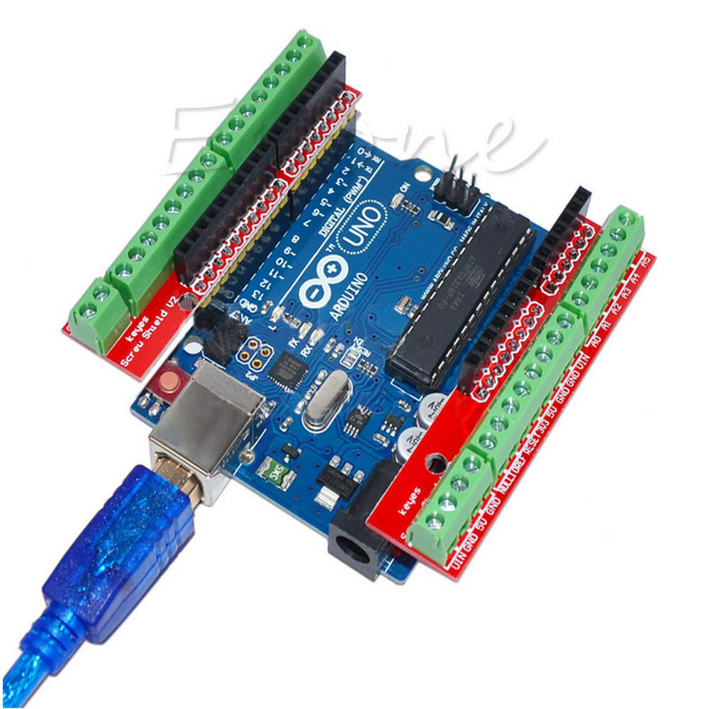Arduino uno r m proto screw shield v expansion board