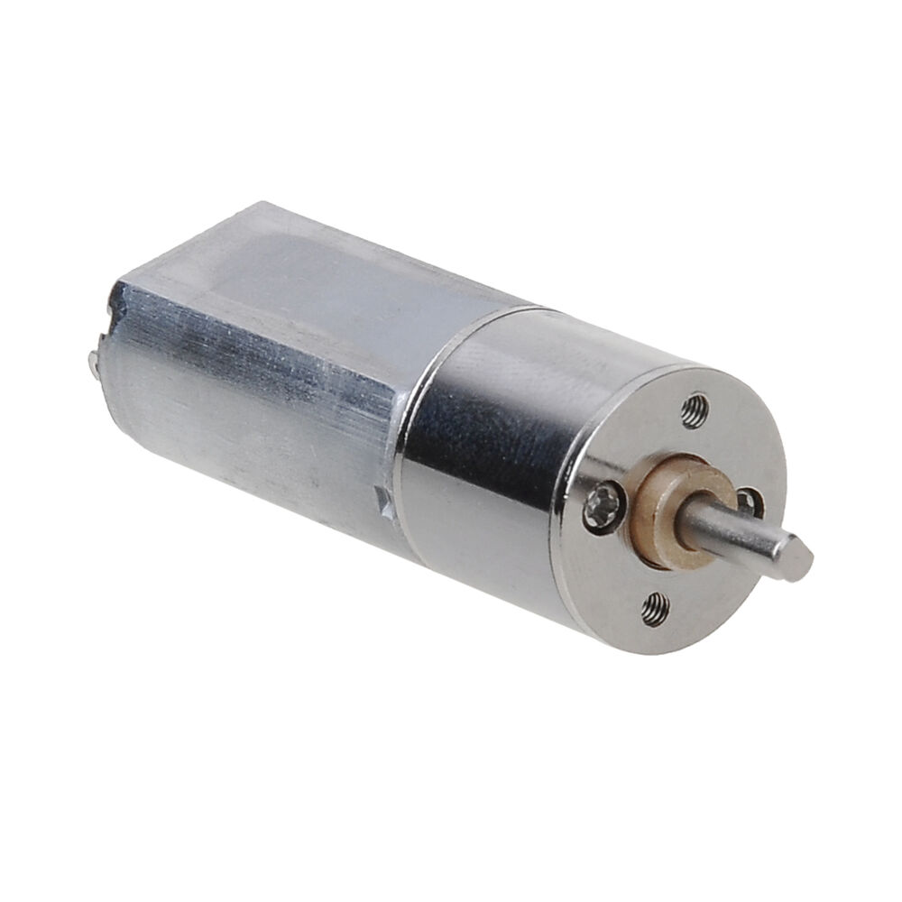 300rpm 12v High Torque Mini Electric Dc Geared Motor