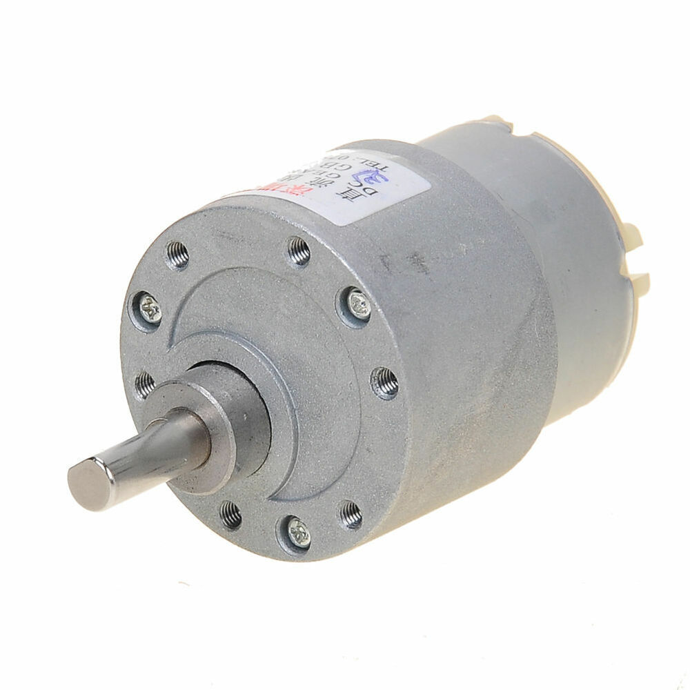 3 5rpm 12v High Torque Mini Electric Dc Geared Motor