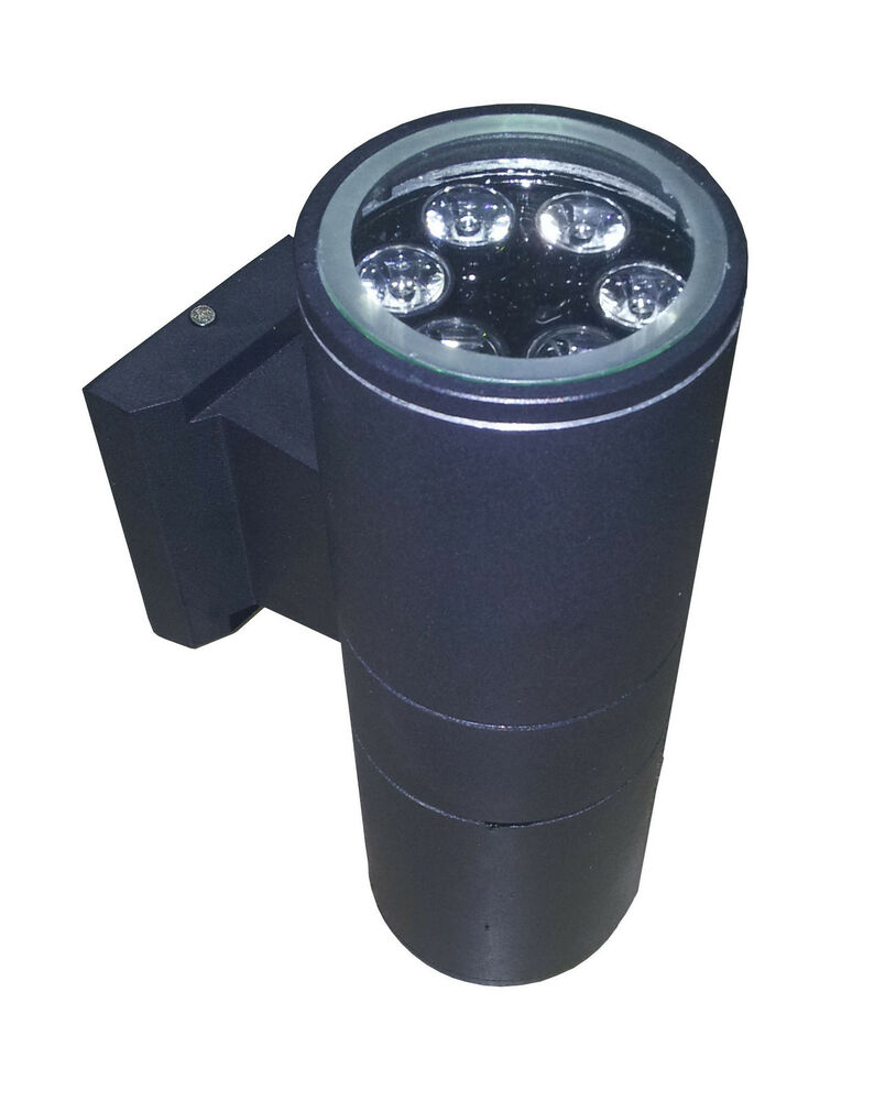 New 12w outdoor wall led light ac 85 265v waterproof up for Exterior up and down lights led