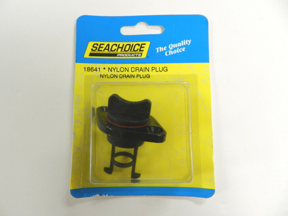 Retained Screw Type Nylon Drain Plug For Boats Fits 1 Inch Diameter Hole 18641 Ebay