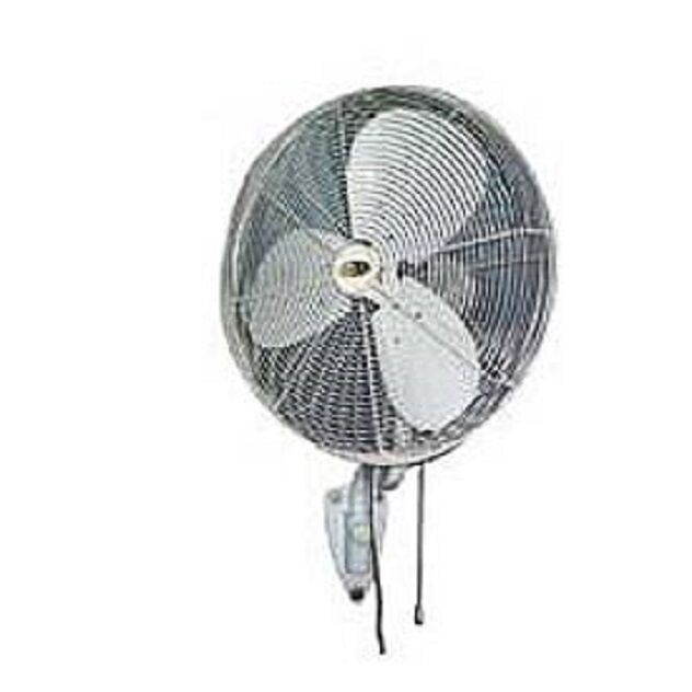 Outdoor Wall Mount Oscillating Fans : New quot indoor outdoor oscillating fan with wall bracket