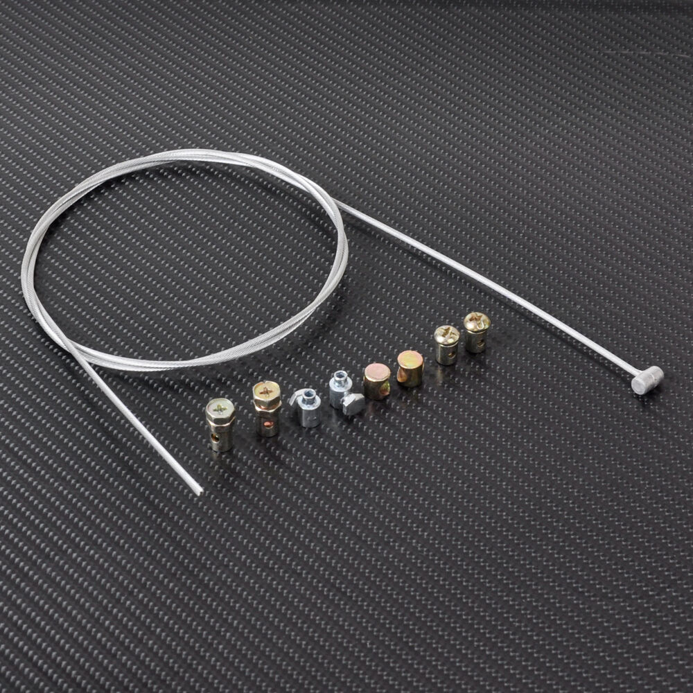 Universal Throttle Cable Kit : Universal motorcycle emergency throttle cable repair kit