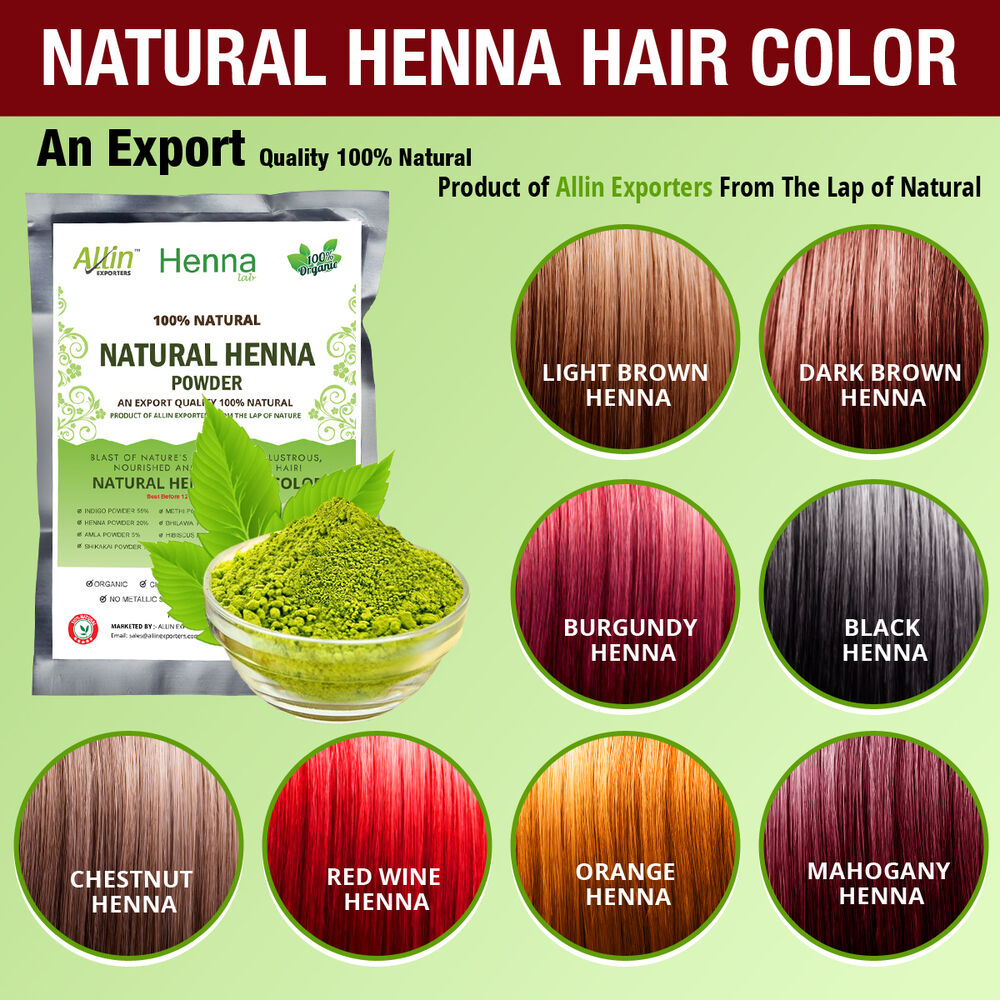 Natural Organic Hair Color Products