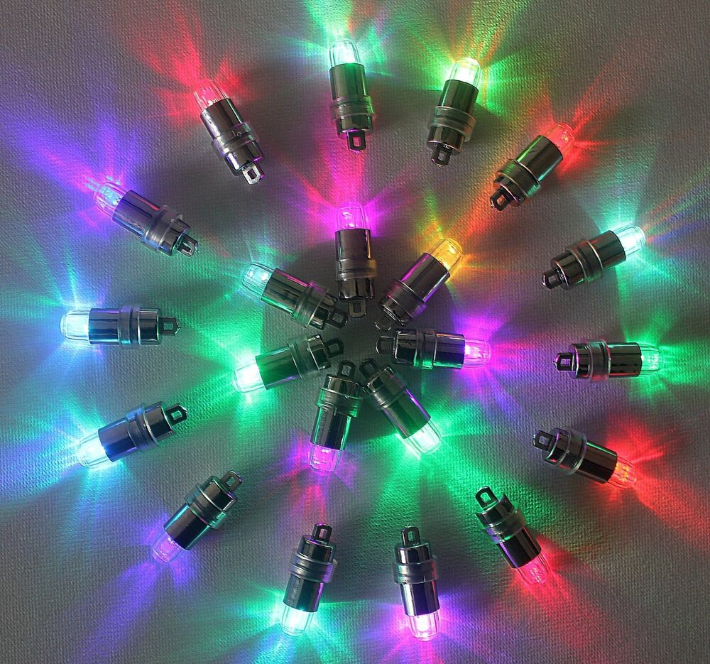 Pcs color changing blinking led party lights for