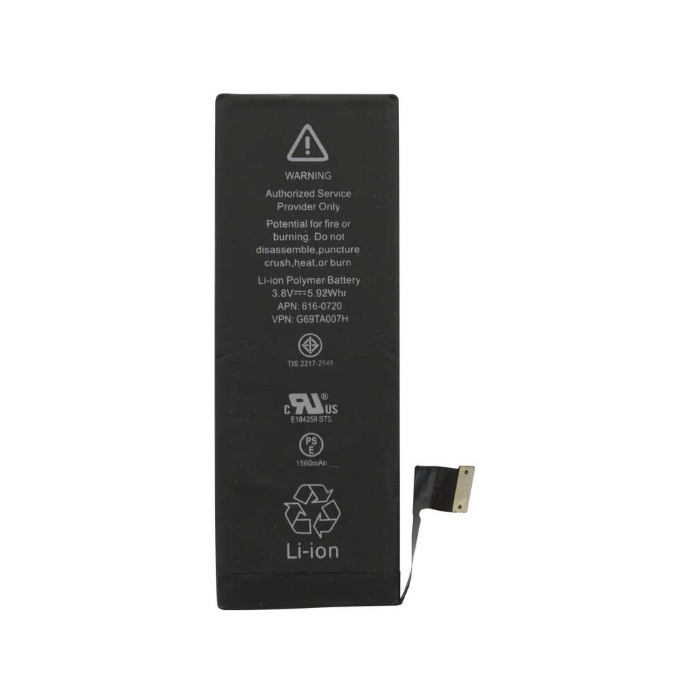 new 1560mah li ion internal replacement battery for apple. Black Bedroom Furniture Sets. Home Design Ideas