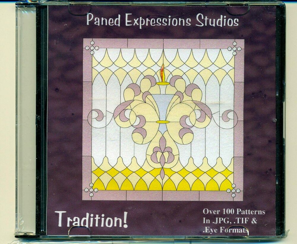Paned Expressions Studios – Nature's Bounty 1 Stained Glass Patterns CD