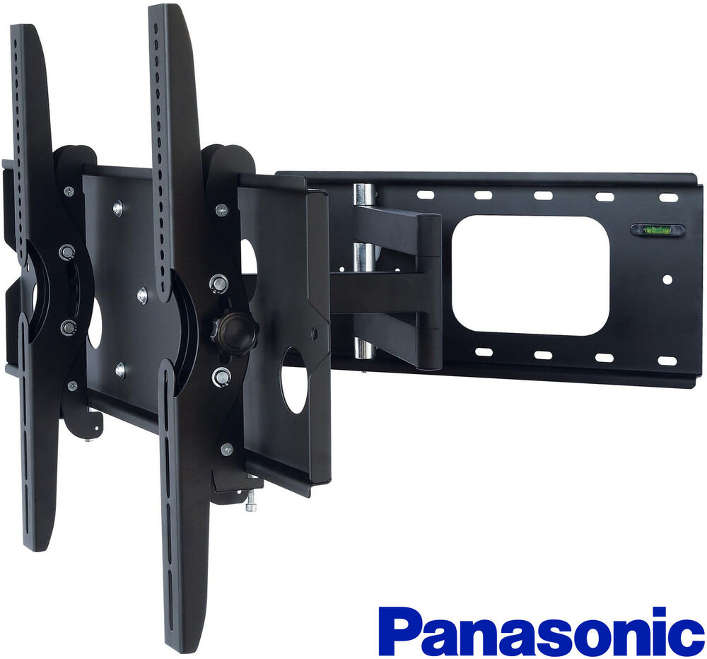 corner full motion tv wall mount 40 42 50 52 55 60 inch panasonic lcd led hdtv ebay. Black Bedroom Furniture Sets. Home Design Ideas