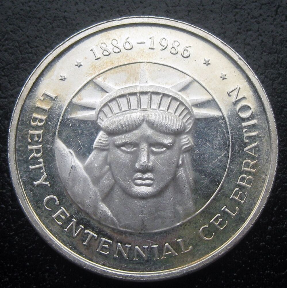 One Troy Ounce 999 Fine Silver Coin Liberty Centennial