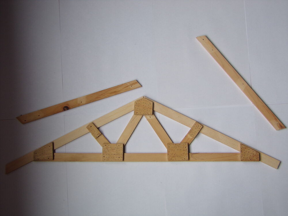 Roof Truss Plans How To Build Make Your Own Exact Custom