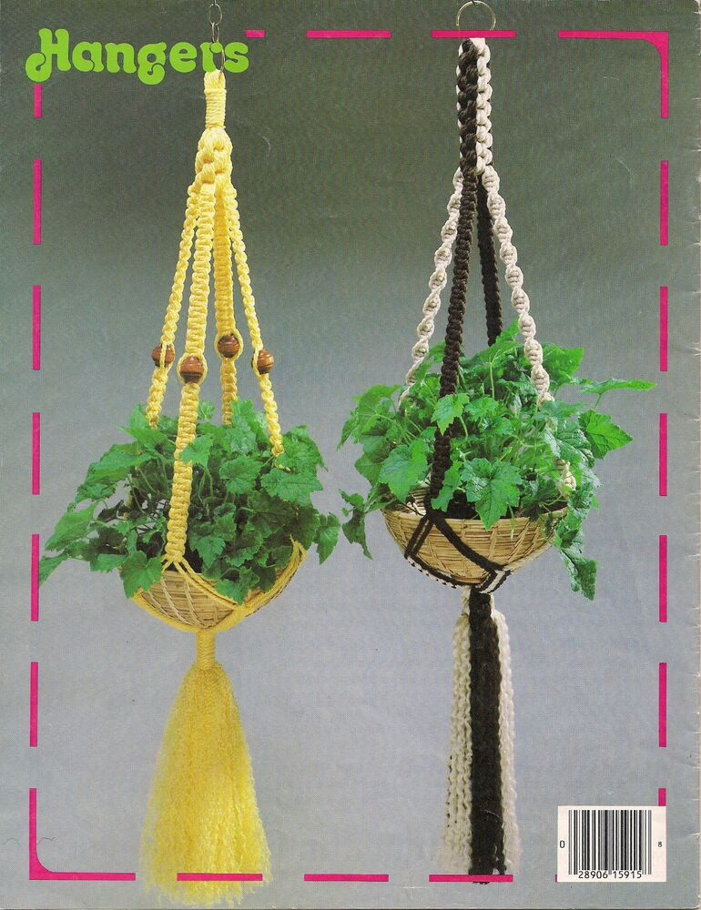 macrame plant hanger pattern books plant hanger patterns craft book 15915 macrame 5110