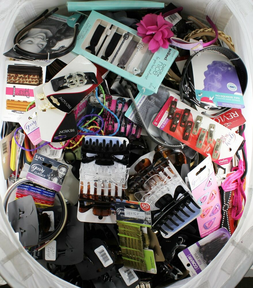 Wholesale Bulk Lot Of 500 Goody,Scunci, Karina,Revlon